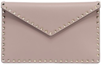 Valentino ROCKSTUDS LEATHER POUCH