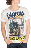 Guess Rhythm Sound Crew Neck Tee
