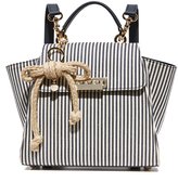 Zac Posen Eartha Striped Convertible Backpack