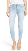Hudson &Nico& Distressed Ankle Skinny Jeans