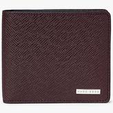 Hugo Boss Boss Signature 8 Card Textured Leather Wallet, Black