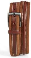 Mezlan Men's 'Parma' Leather & Nubuck Belt