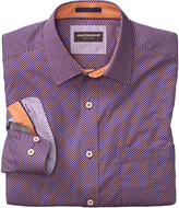 Johnston & Murphy Dotted Diamond Print Shirt