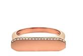 Jade Trau Century Diamond Ring - Rose Gold
