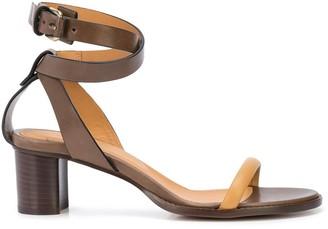 Isabel Marant Jadler 45mm contrasting-strap sandals
