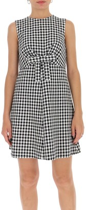 RED Valentino Bow Detailed Sleeveless Dress