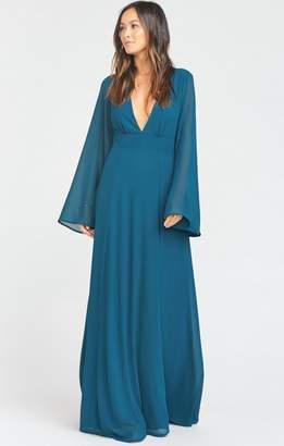 Show Me Your Mumu Venus Long Sleeve Flare Dress
