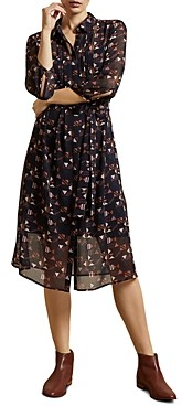 Ted Baker Ronniy Printed Shirt Dress