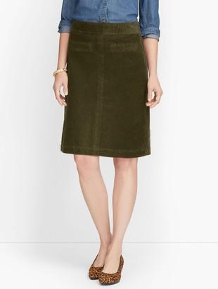 Talbots Wide Wale Corduroy Skirt