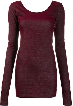 Ann Demeulemeester Bodycon Mini Dress