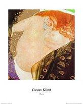 Gustav 1art1 Posters Klimt Poster Art Print - Danae (20 x 16 inches)