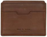Rag & Bone Brown Leather Card Holder