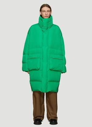 Aa Spectrum Oversized Drop Down Coat in Green