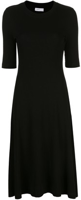 Rosetta Getty cropped sleeve T-shirt dress
