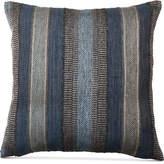 """Hallmart Collectibles Striped Chenille 18"""" Square Decorative Pillow"""