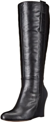 Nine West Women's Oran-Wide Leather Knee High Boot