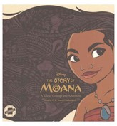 Story of Moana : A Tale of Courage and Adventure (Unabridged) (CD/Spoken Word) (Kari Sutherland)