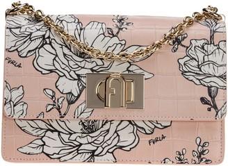 Furla 1927 Floral Shoulder Bag