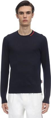 Moncler Cotton Fine Knit Sweater