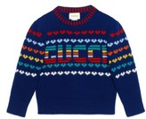 Gucci Girl's Intarsia Sweater
