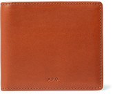 A.P.C. Leather Billfold Wallet - Brown