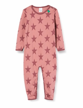 Fred's World by Green Cotton Baby Girls' Star Shaping Bodysuit