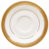 Noritake Crestwood Gold Embossed Scroll & Leaf Bone China Saucer