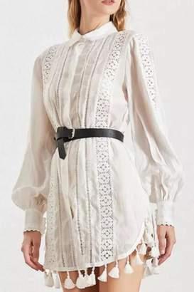 Chikas Button-Down Mini Dress