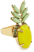Elizabeth Cole Pineapple Ring