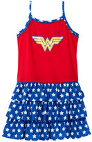 Intimo Wonder Woman 3 Tier Nightgown (Little Girls & Big Girls)