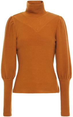 Walter Baker Ribbed-knit Turtleneck Sweater