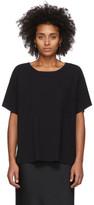 Alexander Wang Black Tilted Pocket T-Shirt