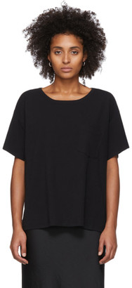 Alexander Wang Black Tilted Pocket T-Shirt