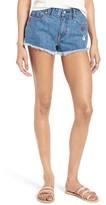 Vigoss Women's Jagger Frayed Cutoff Denim Shorts