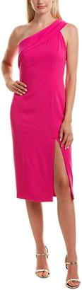 Jay Godfrey Sloan One-Shoulder Sheath Dress