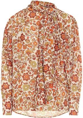 Dodo Bar Or Floral crApe blouse