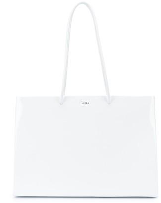 Medea Patent Effect Tote Bag
