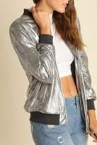Umgee USA Silve Metallic Jacket