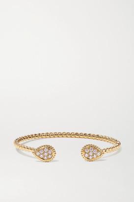 Boucheron Serpent Boheme 18-karat Gold Diamond Cuff - one size