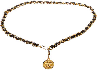Chanel Gold-Tone Cc Chain Belt