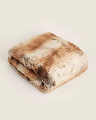 Melange Home Mink Luxurious Faux Fur Throw