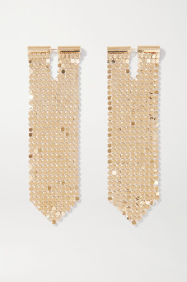 Paco Rabanne Gold-tone Chainmail Earrings