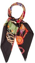 Hermes Le Timbalier Silk Scarf