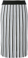 Diesel vertical striped skirt - women - Polyester/Viscose - XS