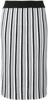 Diesel vertical striped skirt