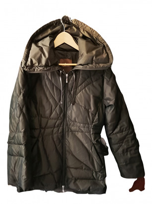 Moncler Brown Polyester Coats