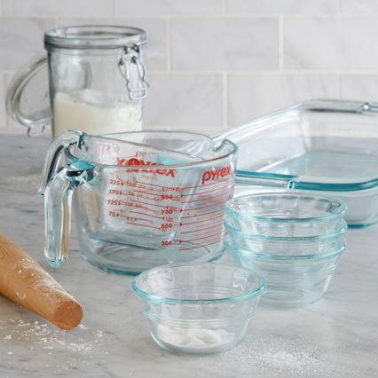Pyrex Custard Cups, Set of 4