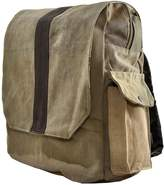 Vintage Addiction Recycled Military Tent Backpack