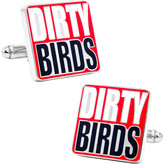 "Cufflinks Inc. Men's Falcons ""Dirty Bird"" Cufflinks"