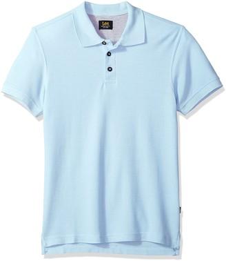 Lee Men's Polo Shirt Short Sleeve Tall Regular